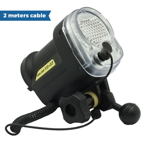 Sea&Sea YS-03 Underwater strobe / 2 meters fiber optic cable