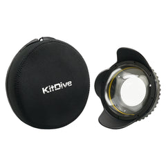 Wide Angle Wet Correctional Dome Port Lens Version II (67mm Round Adapter) - A6XXX SALTED LINE
