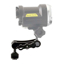 Underwater Video light / Strobe mounting system MS2 - A6XXX SALTED LINE
