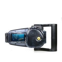40m/130ft FDR-AX30/AX33/AXP33/AXP35 Underwater video camera housing - A6XXX SALTED LINE