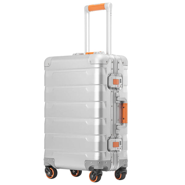 Kroeus 100% All Aluminum Luggage Hardside 1810K