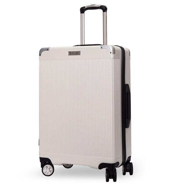 Kroeus Hardshell Carry on Luggage Dual Spinner Wheels TSA lock Suitcase