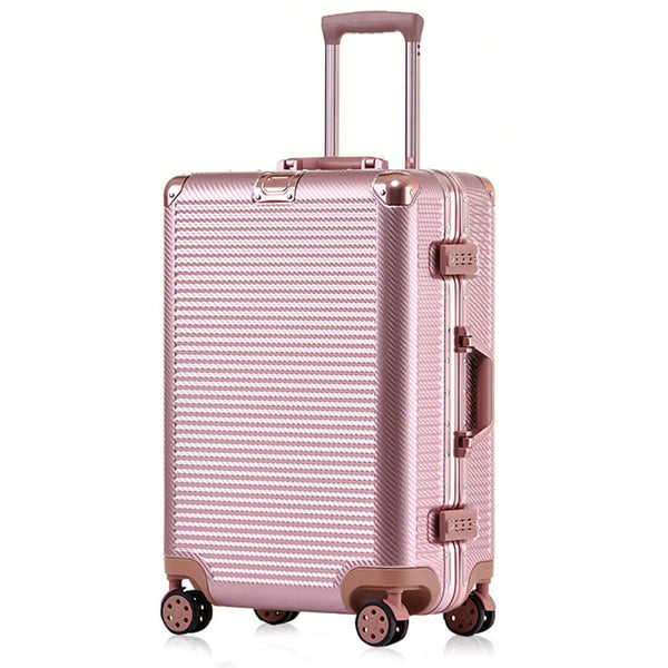 Kroeus Trolley Luggage Multi-size&color TSA lock Aluminum Frame Suitcase