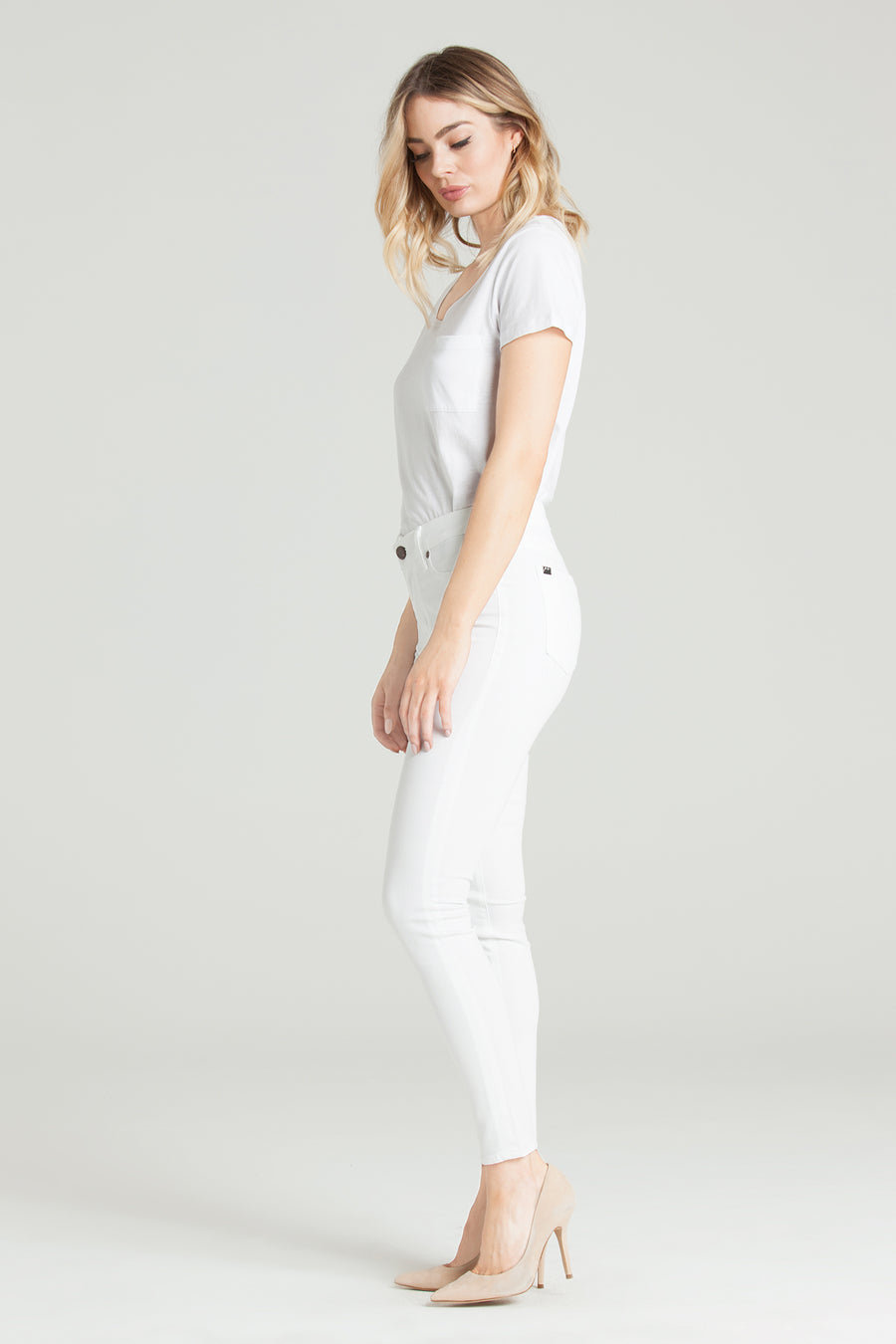 Ava Skinny in Eternal White
