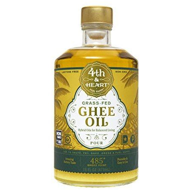 4th & Heart Grass-Fed Ghee Oil