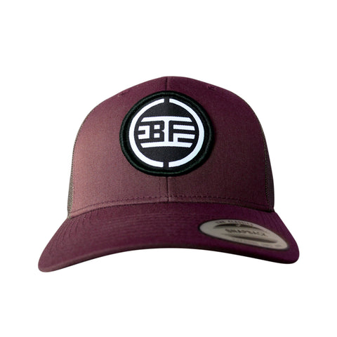 B-Freqz Trucker cap Red