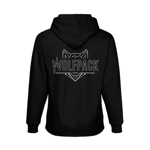 Wolfpack Hooded - Black