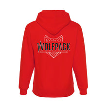 Load image into Gallery viewer, Wolfpack Hooded Red