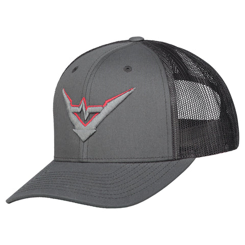 Stealth Mode truckercap (charcoal)