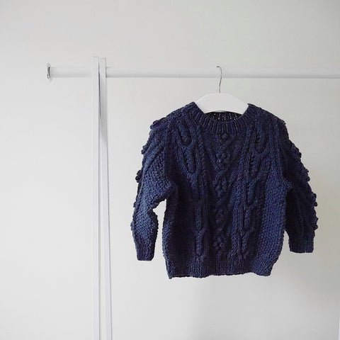Traditional Aran Jumper - Finberry