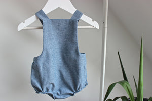 Button Romper - Finberry