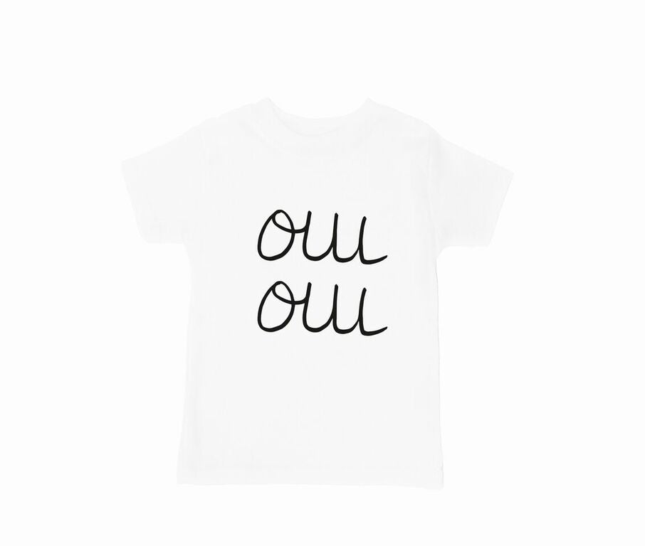 Oui Oui Short Sleeve T-Shirt - Finberry