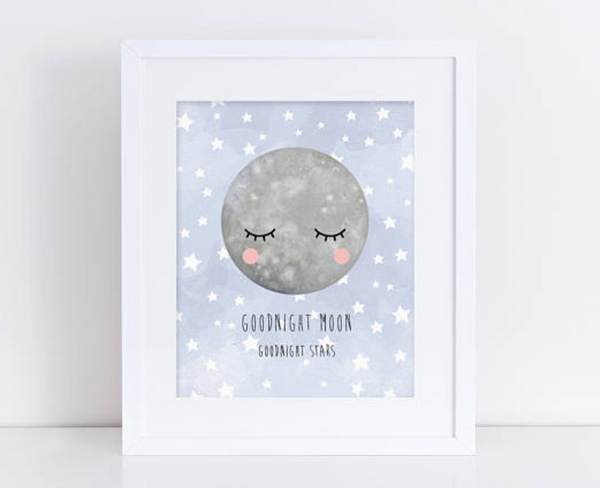 Goodnight Moon Print - Finberry