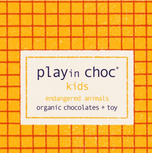 Playin Choc Kids Organic Chocolates + Toy - Finberry