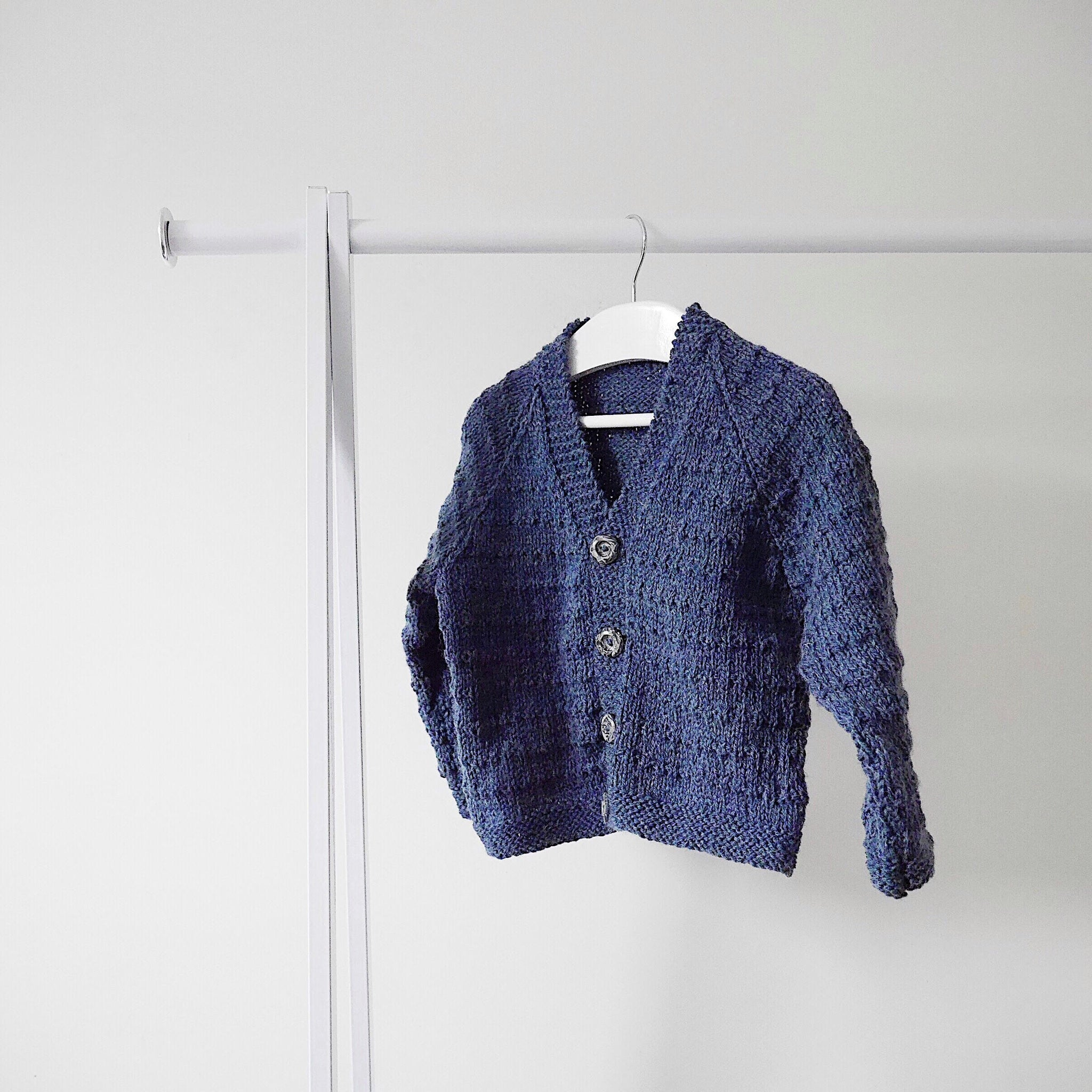 Traditional Wool Cardigan - Finberry