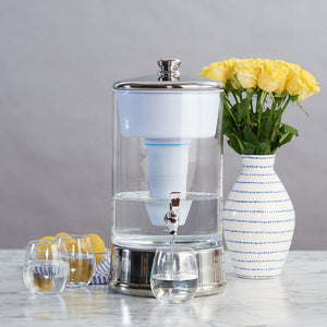 ZeroWater 40 Cup / 9.5L Glass Dispenser