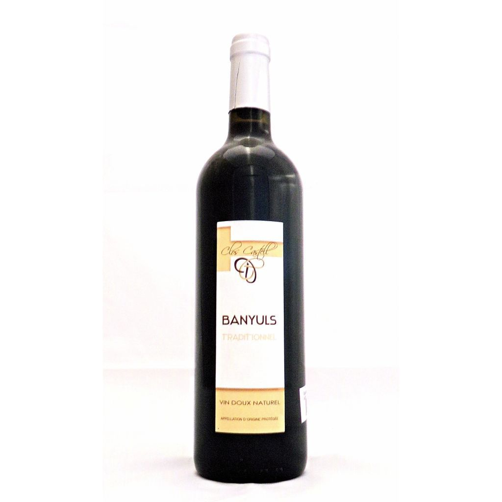 Banyuls Traditionnel 75cl AOC 2014. 17,5°.