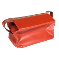 Expandable Travel Wash Bag - Chestnut