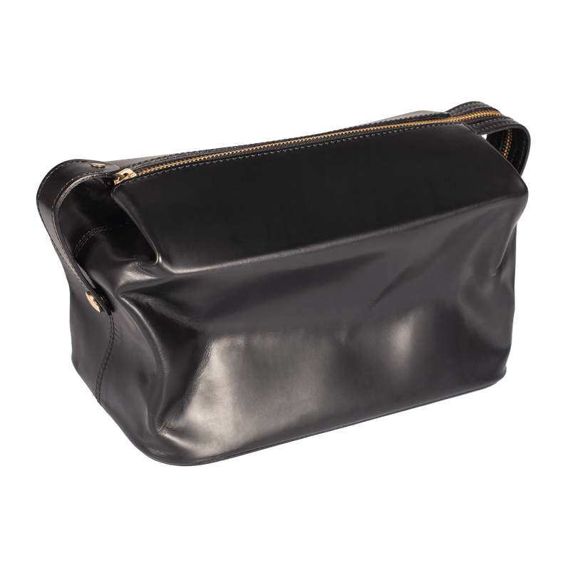 Expandable Travel Wash Bag - Black