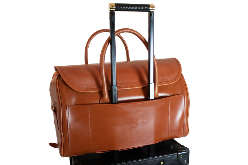 Bespoke Oxford -Trolley Addition- London Tan / Nickel