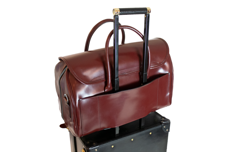 Bespoke Oxford -Trolley Addition- Oxblood / Nickel