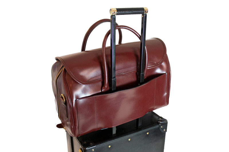 Bespoke Oxford -Trolley Addition- Oxblood / Brass