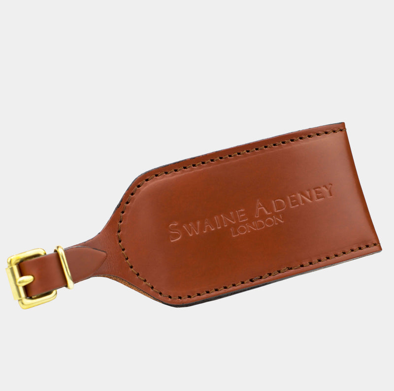 Luggage Tag - Chestnut