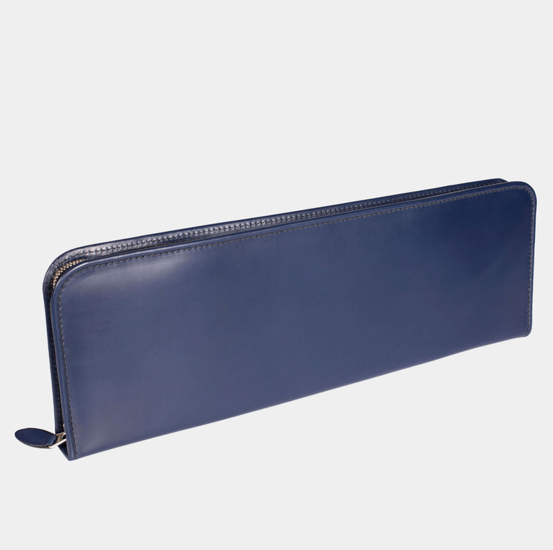 Swaine Adeney Tie Holder - Royal Blue