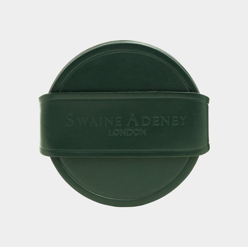 Swaine Adeney Brigg Round Coasters - Jaguar Green
