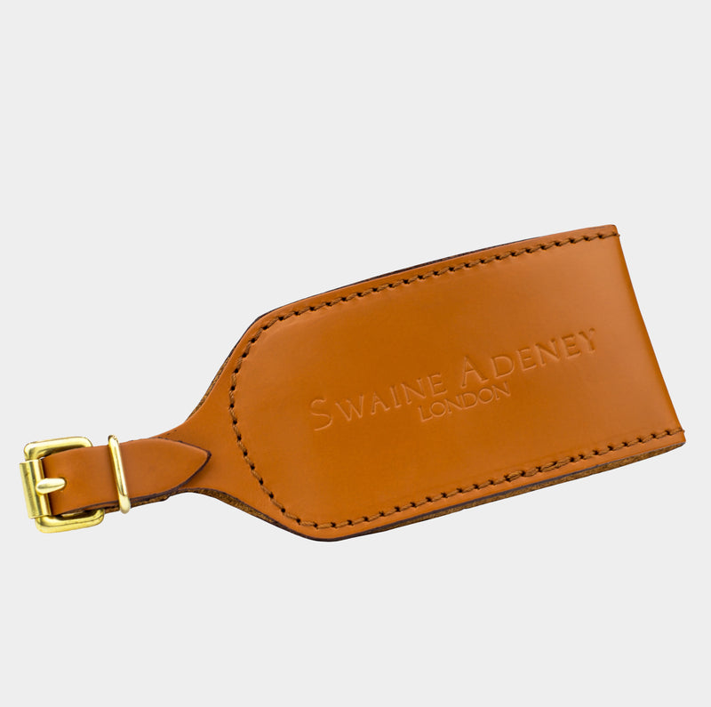 Luggage Tag - London Tan