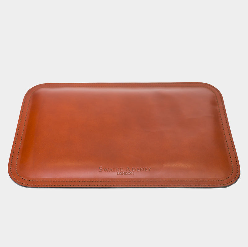 Swaine Adeney Mouse Mat - Chestnut