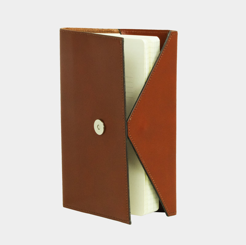 Envelope Notebook - Chestnut