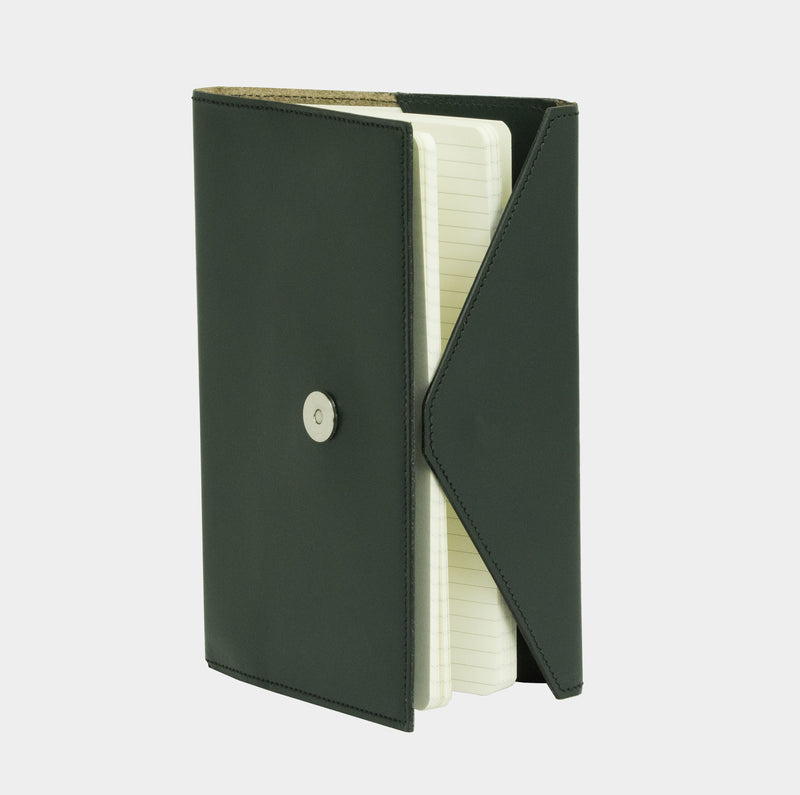 Envelope Notebook - Jaguar Green