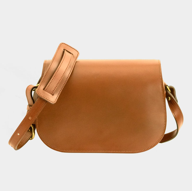 Saddle Bag - London Tan