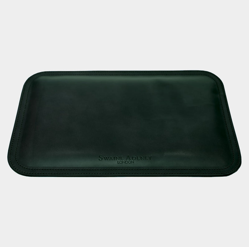 Swaine Adeney Mouse Mat - Jaguar Green
