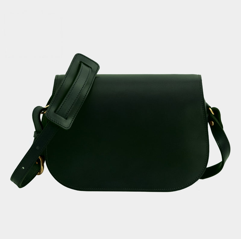 Saddle Bag - Jaguar Green