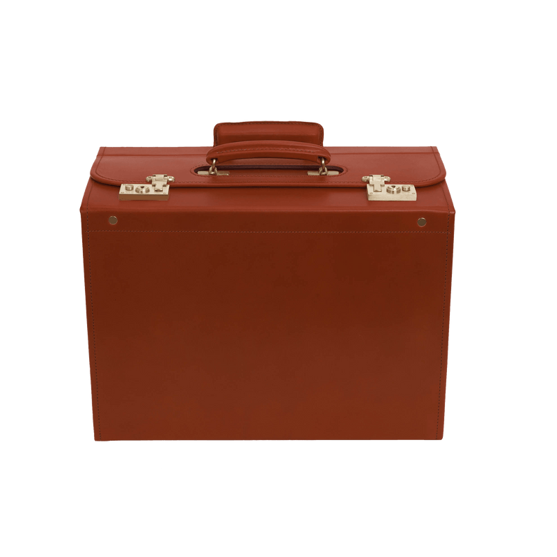 Pilot Trolley Case - Chestnut