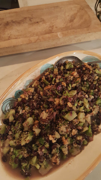 Taco Broccoli Salad - Part of the Edible Hormones Series