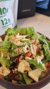 Salad Combo with Hemp Hearts and Raddichio