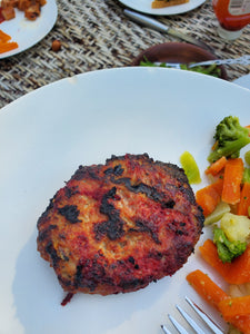Turkey Burgers With Nomato Burger Sauce