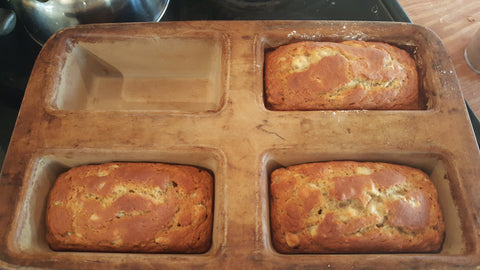 Gluten free sourdough banana bread