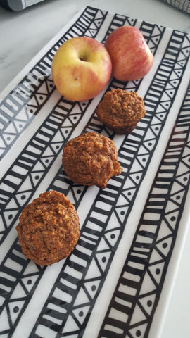 apple cinnamon mini muffins, paleo, grain free, scd, gluten free