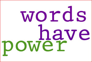 Power of Words Healing Awareness Exercise