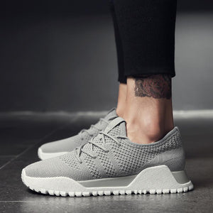 Men Fashion Mesh Breathable Chic Casual Shoes