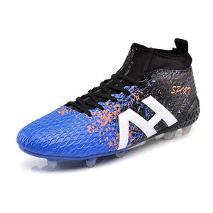 Men'S High Ankle Ag Sole Outdoor Football Boots Shoes Soccer Cleats