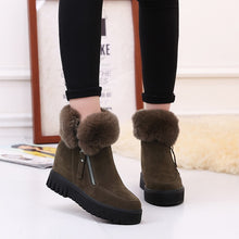 Load image into Gallery viewer, Snow Sheepskin Boots Velvet Warm Shoes