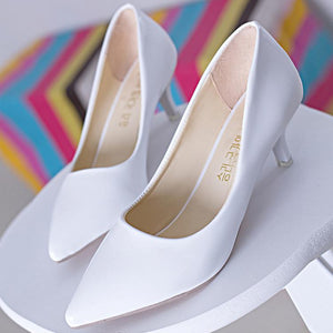 Pointed Toe High Heel Shoes