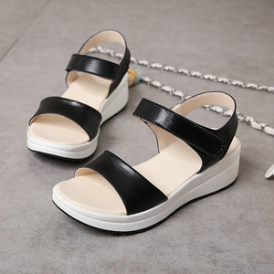 Casual Wedge Comfort Open Toe Classic Sandals
