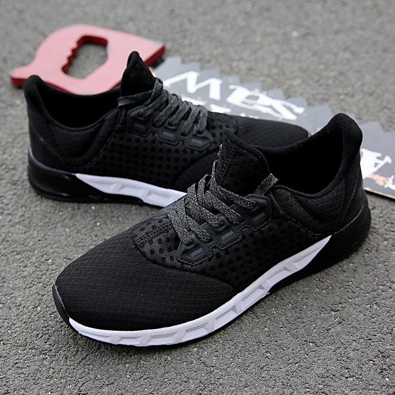 Seasons All-Match Men'S Breathable Sneakers Casual Outdoor Sports Lace Gym Shoes