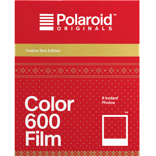 Polaroid Originals Color 600 Festive Red Instant Film (£18.99 incl VAT)